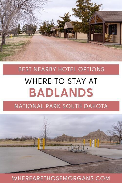 Where to stay at badlands national park south dakota best hotels near the park