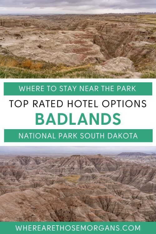 top rated hotels near badlands national park south dakota where to stay