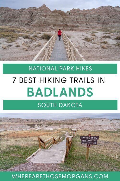 7 best hikes in badlands national park south dakota