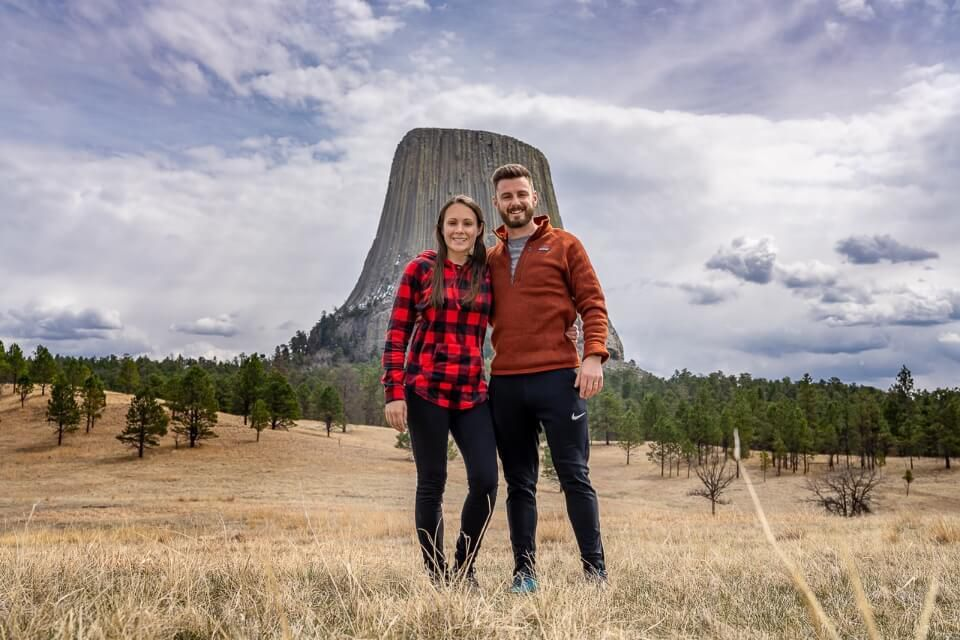 Where are those morgans at devils tower national monument in wyoming joyner ridge trail
