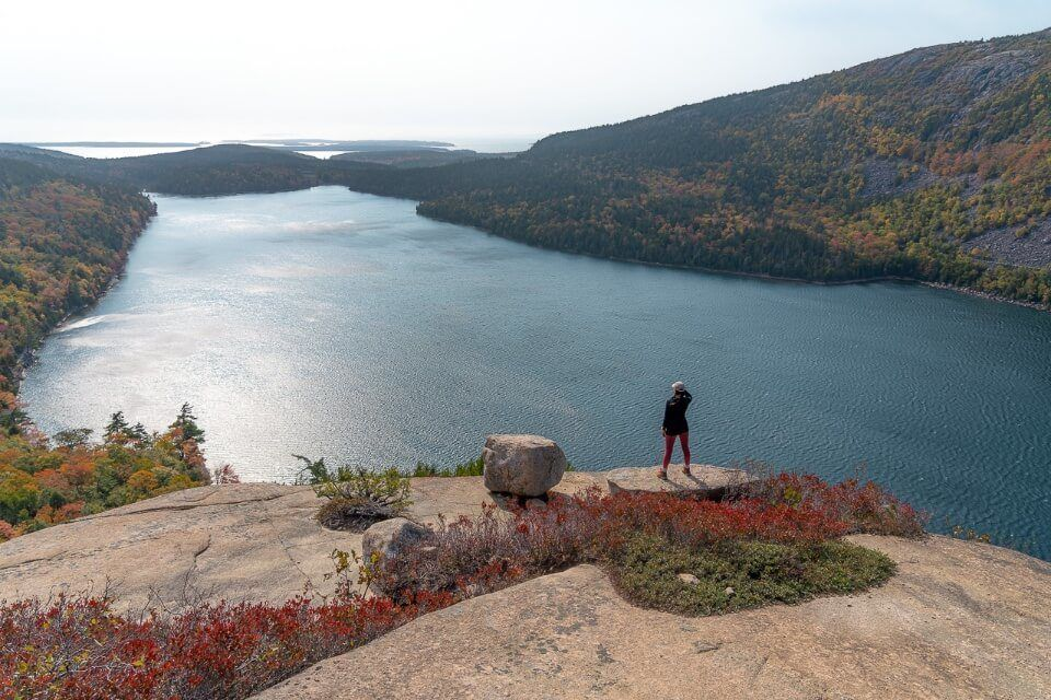 Where Are Those Morgans Best Hikes in Acadia National Park South Bubble Overlooking Jordan Pond Stunning View from an amazing trail in Maine