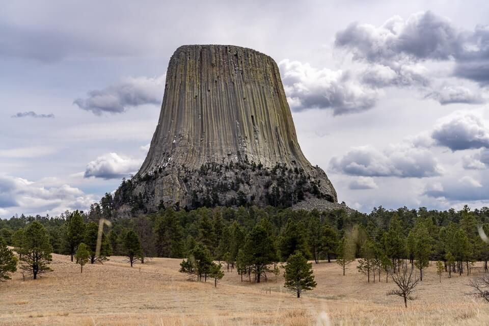 Devils Tower National Monument from Joyner Ridge an amazing way to end a south dakota road trip