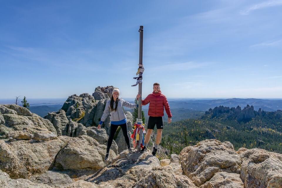 Where Are Those Morgans at the summit of Black Elk Peak in South Dakota