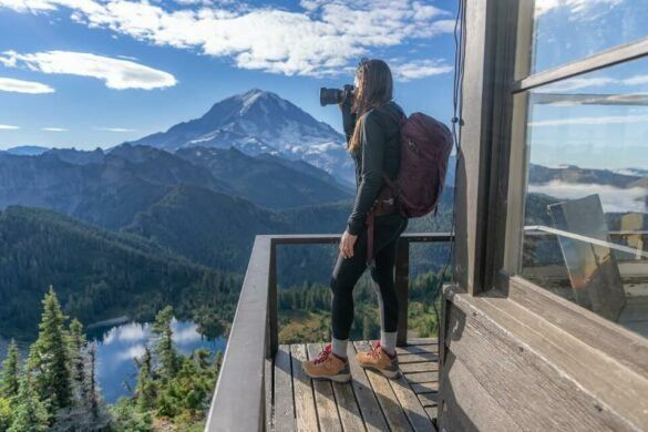 Tolmie Peak Trail Hike Mt Rainier Where Are Those Morgans Photographing The Volcano